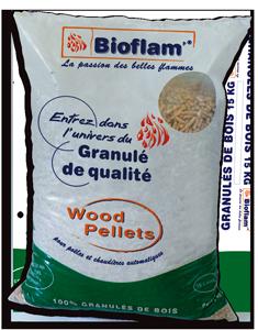 Granulés de bois Bioflam'