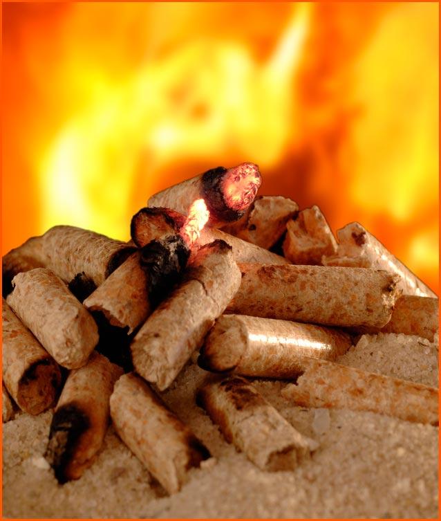 Pellets de chauffage Bioflam granulés norme Din plusécologique Toulouse # Bois De Chauffage Écologique